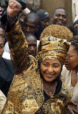 Winnie Mandela Held Down Nelson Mandela for 27 Years