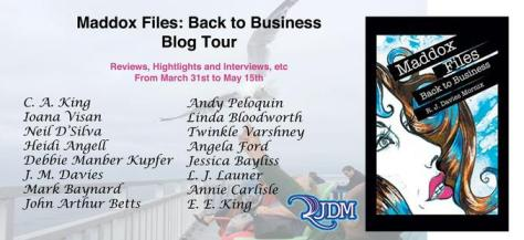 Maddox Files Blog Tour