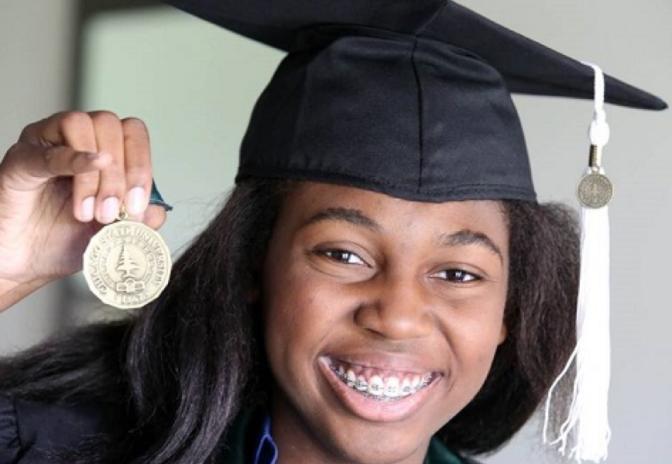 Master's Degree, at 16!